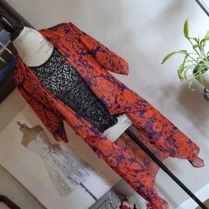 Lularoe Open Kimono Tunic